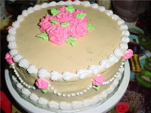 Вот мой многострадальный тортик - 2