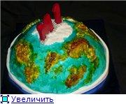 торт губка Боб торт планета - 7