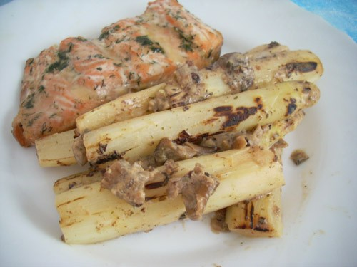 отличный соус к мясу, замена банальному бешамелю - 3