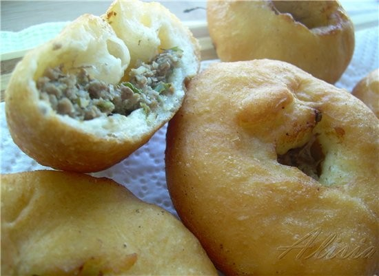 Жареные пирожки, беляши и прочую вкуснятину из теста готовлю редко, чтобы не было соблазна, но сего... - 2