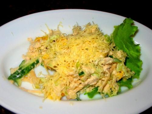 Девочки сегодня у нас на ужин: салатик Соната салатик Аргентина солянка - 2