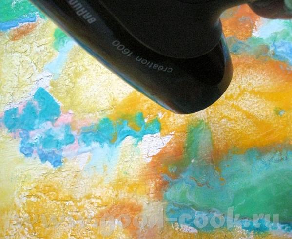 3 Готовлю краски жидко разводя их с очищенным подсолнечным маслом, тройчаткой или скипидаром - 3