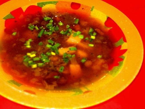 Девочки сегодня кушали мы: супчик Грибной от салатик Экзотика салатик Лик