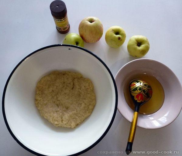 Постный яблочный пирог - 2