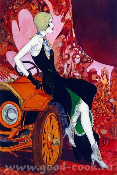 Любителям рисовать акрилом, очень красиво Karl Illini Acrylic Alvin Richard Acrylic Moira Carlson... - 7