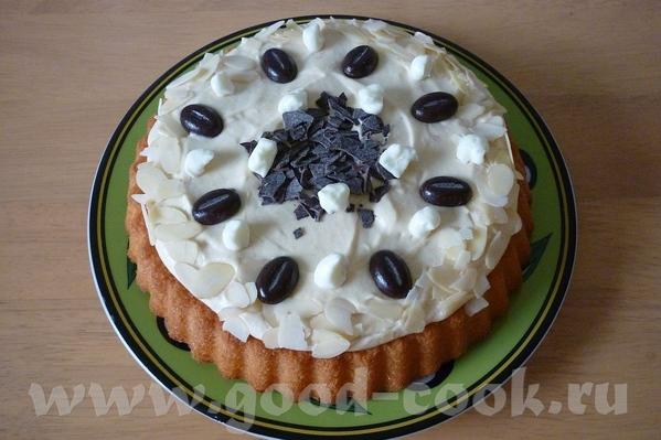 да, вот такие тортики делеал из покупных коржей кофейный и с брусничным конфитюром и взбитыми сливк...