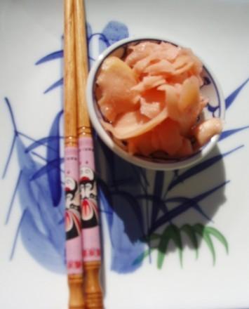 Ну и какое же суши без маринованого имбиря