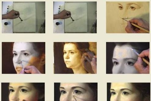 "Alexei Antonov ""Portrait of Anna"" Автор: Alexei Antonov Название: Portrait of Anna Производство: Al... - 2"