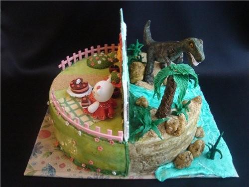 красивые тортики хорошенькая кукла тортик один на двоих