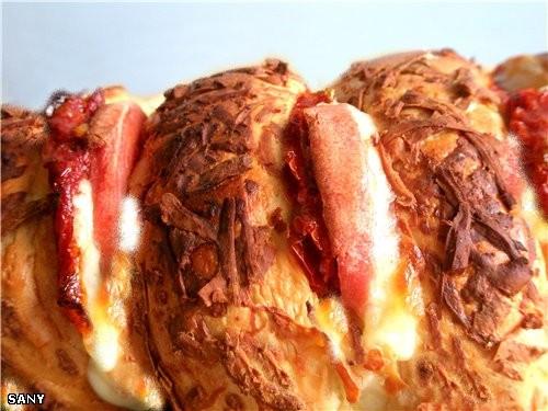 САНДВИЧ «ЗЕБРА» Очень легкий в приготовлении и необычайно вкусный сандвич, которым можно позавтрака... - 2