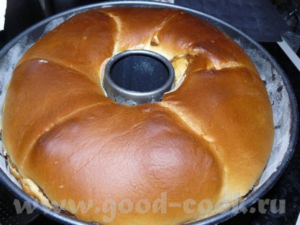 От псевдо-фаршированой тыквы ещё осталось порядком, поэтому решила сделать этот пирог, т - 5