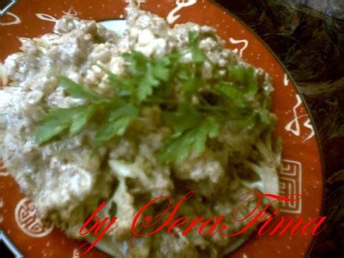 ПрЫнесла спасибу Светульке - за вкусный рецепт Загру(цветную капусту) в соусе тахина Я делала на мя...