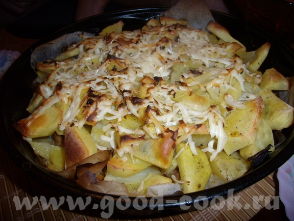 Картофельная запеканка Картошка по мотивам Люси