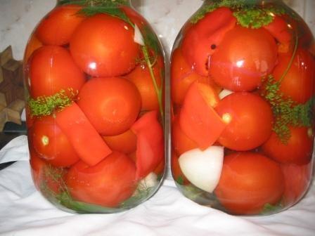 маринованные кисло сладкие помидоры,готовятся очень легко