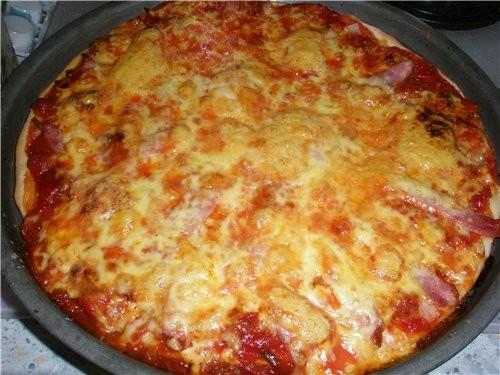 Рецепт очень вкусного настоящего теста для пиццы - 2