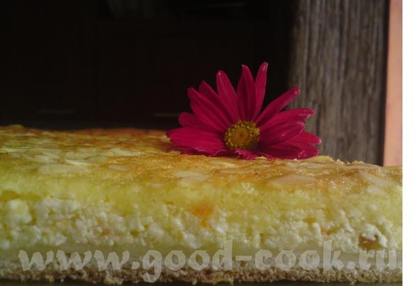 Дрезденский дрожжевой пирог Для теста: 350 грамм муки,15 грамм дрожжей, 125 мл теплого молока, 30 г...