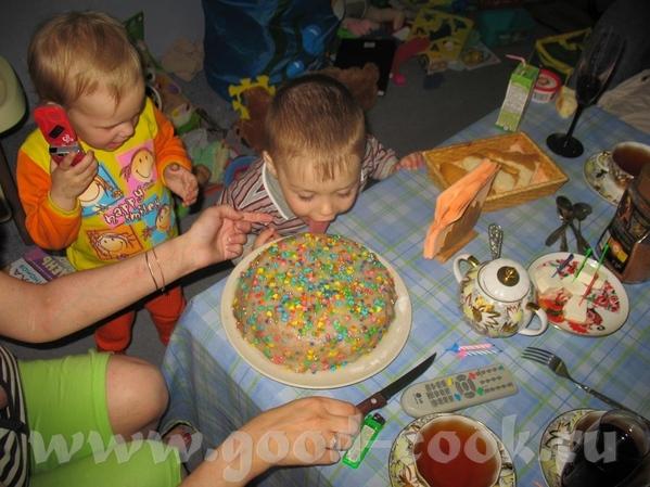 """Мы отметили двухлетие с безмолочным тортиком """"Буду - 2"""