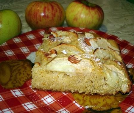 Испекла сегодня яблочный пирог Интересный рецепт