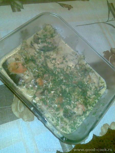 Несу большую спасибу Леночке milovidova за изумительный рецепт Рагу из рыбы Я использовала морскую...