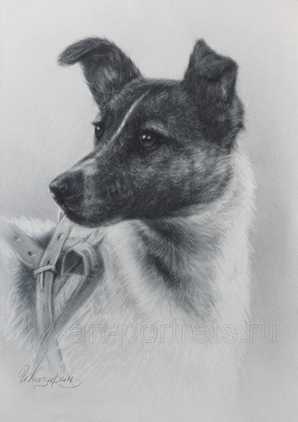 Вот тут есть небольшие ролики от художника Игоря Казарина, о том, как нарисовать портрет в технике... - 4