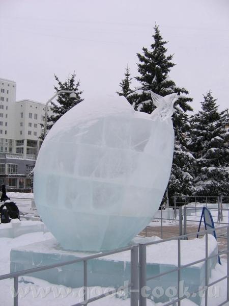 у нас это не конкурс, у нас это просто традиция - ежегодно делать ледяные городки, Сибирь, однако В... - 6