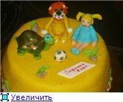 торт с ягненком торт с фейками торт львенок,черепаха,девочка - 7