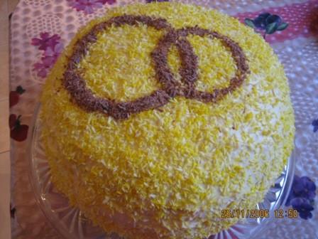 А это торт Амадеус в моем исполнении, не до украшательств было