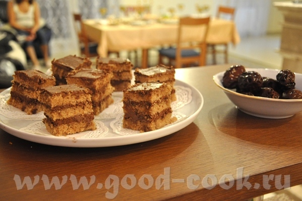 очень вкусные пирожные, пропитывание коржей сиропом с ромом обеспечивает прекрасные аромат и нежнос... - 2