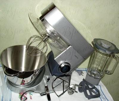 Мой комбайн - Kenwood Chef KM010 еще не испытывала