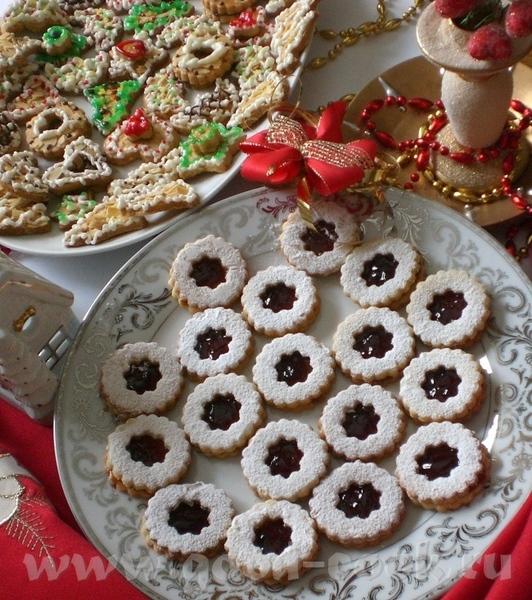 Вот и наступило время выпечки Рождественского печенья