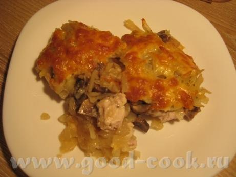 На обед был рассольник с куриными шейками На ужин картофельная запеканка и салат из свежего огурца... - 3