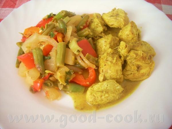 хороший витаминный гарнир или вегетарианское блюдо, позволяющее избавиться от остатков любых овощей... - 2
