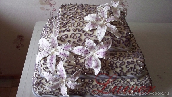 Свадебный торт вес 25 кг