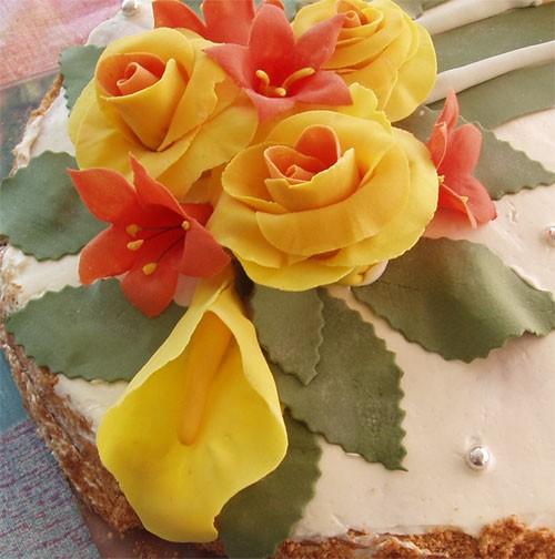 привет, я к вам со своими тортиками дочери на именины - 2