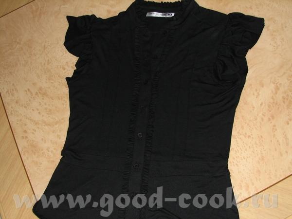 Блузка простенькая совсем,но можно одеть с чем угодно,люблю унивесальные вещи