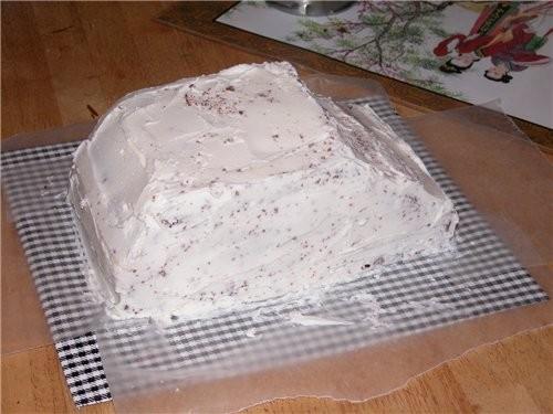 ТОРТ-МАШИНА Ето торт на завершение школы (обьединяет в себя всё, что с етим ассоциируется: любовь,... - 4