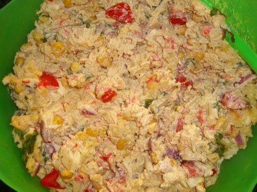 """Кюкю из баклажанов(азербайджанская кухня) Крабовый салат """"Вкусный гибрид"""" Яблочный штрудель - 3"""
