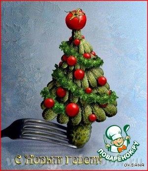 Сайт Поварёнок от Оксаны Вот как можно организовать идею закуски на Новый год