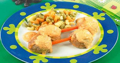 А это Лесные Человечки Прекрасная идея для мальчукового обеда - богатырские тефтельки - 2