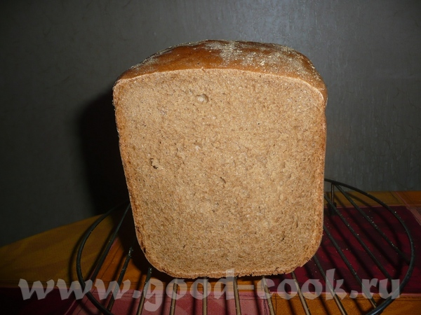 Ржано-пшеничный хлебушек на квасном сусле - 4