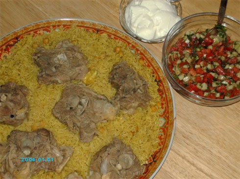 """, у меня сегодня на обед палестинское блюдо """"Гедрэ"""" - 3"""