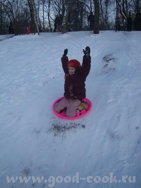 Я вам снегу с горки принесла немного Жаль что каникулы закончились - 2