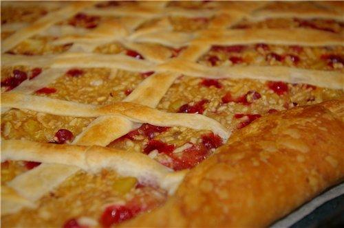 """Очень рекомендую - """"Антикризисные"""" котлетки из крупы Слоеный пирог с яблоками и брусникой - 2"""