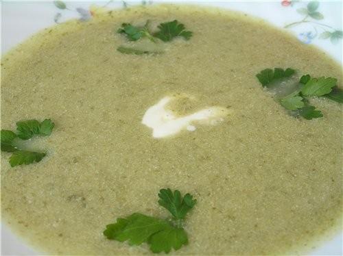Картофельный крем-суп с пореем и лососем Крем-суп из куриной грудинки со щавелем Уха с фрикаделькам... - 2
