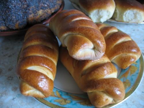 Я тоже с удовольствием благодарю за рецепт от Карины Полосатые КИФЛЕ Очень простой рецепт и очень и...
