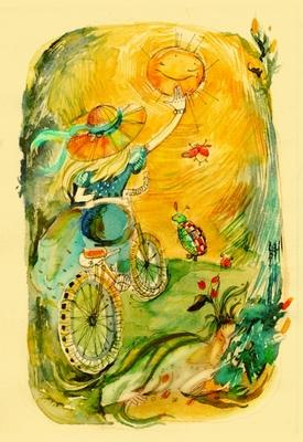 5 сентября Оранжевый день День, наполненный пузырьками солнца, апельсиновым свечением, запахами рыж...