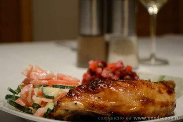 Курица в гранатовом маринаде
