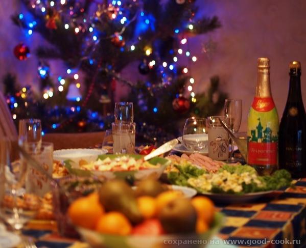 Новогодний стол-2015