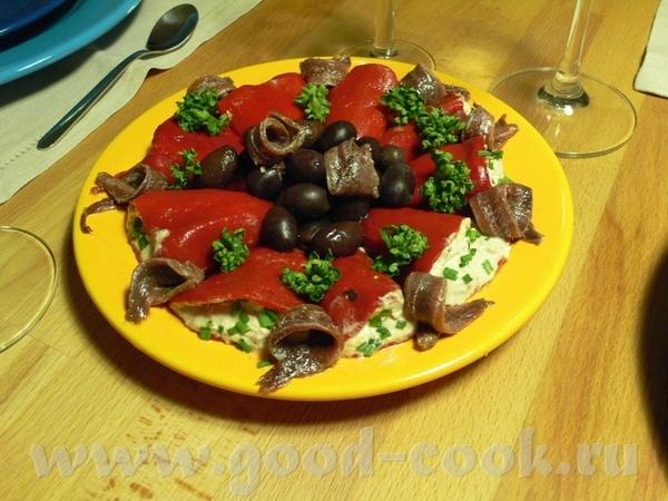 Были у нас недавно гости, и делала я для них ужин в испанском стиле - 2