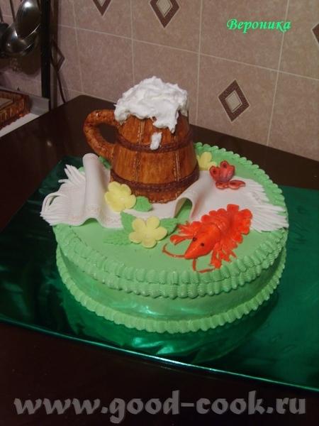 Вот ещё один мой торт